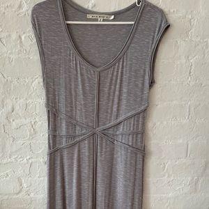 Max Studio Gray Maxi Dress